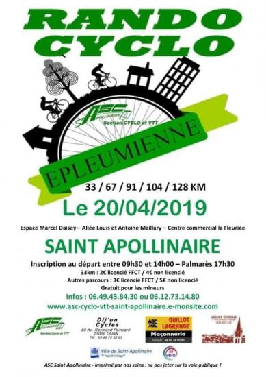 Epleumienne Route 2019