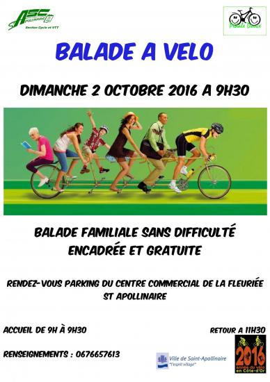 Flyer pedale douce 2 octobre 16